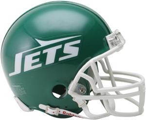 NFL Jets (78-89) Mini Replica Helmet -Throwback
