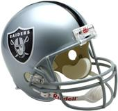 NFL Raiders Deluxe Replica Full Size Helmet