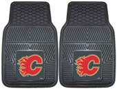 Fan Mats NHL Calgary Flames Vinyl Car Mats (set)