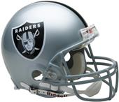 NFL Raiders On-Field Full Size Helmet (VSR4)