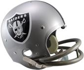 NFL Raiders (1964) Replica TK Suspension Helmet