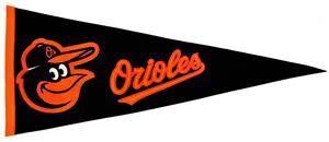 Winning Streak Baltimore Orioles MLB Pennant