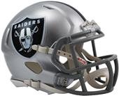NFL Oakland Raiders Speed Mini Helmet