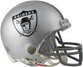 NFL Raiders (63) Mini Replica Helmet -Throwback