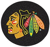 Fan Mats NHL Chicago Blackhawks Puck Mats