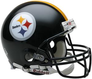 NFL Steelers On-Field Full Size Helmet -Revolution