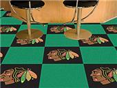Fan Mats NHL Chicago Blackhawks Carpet Tiles