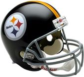 NFL Steelers (63-76) Replica Full Size Helmet (TB)