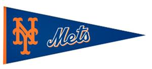 Winning Streak New York Mets MLB Pennant