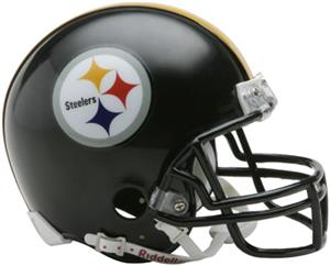 NFL Pittsburgh Steelers Mini Helmet (Replica)