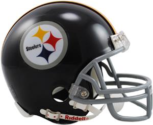 NFL Steelers (63-76) Mini Replica Helmet Throwback