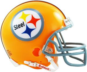 NFL Steelers (1962) Mini Replica Helmet Throwback