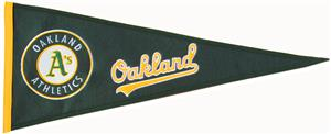 Winning Streak Oakland Athletics MLB Pennant