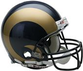 NFL St. Louis Rams On-Field Full Size Helmet -VSR4