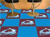 Fan Mats NHL Colorado Avalanche Carpet Tiles