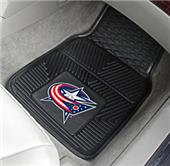 Fan Mats NHL Columbus Blue Jackets Car Mats (set)
