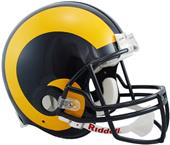 NFL Rams (81-99) On-Field Full Size Helmet (TB)