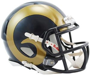 NFL St. Louis Rams Speed Mini Helmet