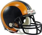 NFL Rams (81-99) Mini Replica Helmet Throwback