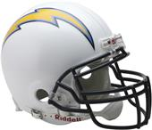 NFL Chargers On-Field Full Size Helmet (VSR4)