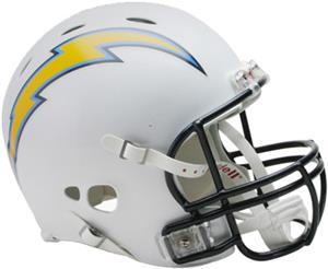 NFL Chargers On-Field Full Size Helmet -Revolution