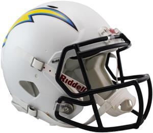 NFL Chargers On-Field Full Size Helmet (Speed)