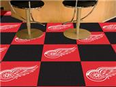 Fan Mats NHL Detroit Red Wings Carpet Tiles