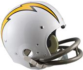 NFL Chargers (61-73) Replica TK Suspension Helmet