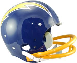 NFL Chargers (74-87) Replica TK Suspension Helmet