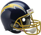 NFL Chargers (74-87) On-Field Full Size Helmet -TB