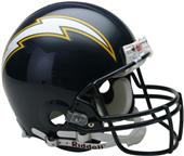 NFL Chargers (86-06) On-Field Full Size Helmet -TB