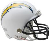 NFL San Diego Chargers Mini Helmet (Replica)