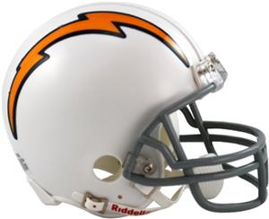 NFL Chargers (61-73) Mini Replica Helmet Throwback
