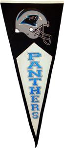Winning Streak Carolina Panthers Classic Pennant