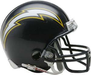 NFL Chargers (88-06) Mini Replica Helmet Throwback