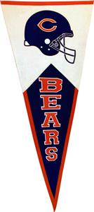 Winning Streak NFL Chicago Bears Classic Pennant