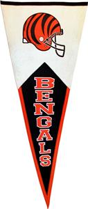Winning Streak NFL Cincinnati Bengals Pennant