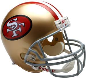 NFL 49ers (64-95) Replica Full Size Helmet (TB)