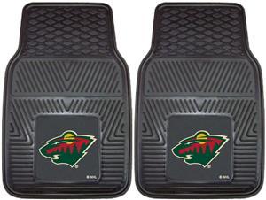 Fan Mats NHL Minnesota Wild Vinyl Car Mats