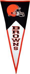 Winning Streak NFL Cleveland Browns Pennant