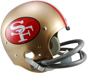 NFL 49ers (64-88) Replica TK Suspension Helmet