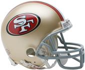 NFL San Francisco 49ers Mini Helmet (Replica)