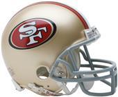 NFL San Francisco 49ers Mini Helmet (Replica)