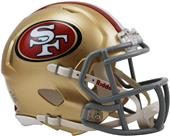 NFL San Francisco 49ers Speed Mini Helmet