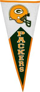 Winning Streak NFL Green Bay Packers Pennant