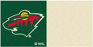 Fan Mats NHL Minnesota Wild Carpet Tiles