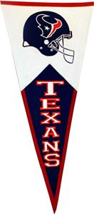 Winning Streak NFL Houston Texans Classic Pennant