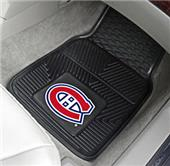 Fan Mats NHL Montreal Canadiens Car Mats (set)
