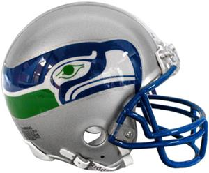 NFL Seahawks (83-01) Mini Replica Helmet Throwback