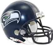 NFL Seattle Seahawks (02-11) Mini Helmet (Replica)